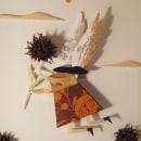 Pajarita en vuelo. Um projeto de Ilustração e Papercraft de CRISTIAN GARRIDO ALFARO - 08.02.2021