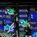 Designscapes Policy Forum. Un proyecto de Br, ing e Identidad, Eventos, Diseño gráfico, Animación 2D y Diseño de carteles de LOCANDIA Estudio - 15.02.2021