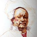 Copia de Rembrandt. Um projeto de Desenho e Desenho de Retrato de Alonso Palomino - 09.02.2021