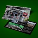 folleto y doble pagina. Um projeto de Design, Design editorial e Design gráfico de Kevin Alvarado Mejias - 09.02.2019