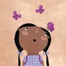 A cocochito. Um projeto de Ilustração, Design de personagens, Colagem e Ilustração infantil de Estrellita Caracol - 10.02.2021