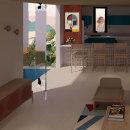 Mi Proyecto del curso: Iniciación al diseño de interiores. Un proyecto de Arquitectura, Arquitectura interior y Creatividad de Andreina Crguez - 11.02.2021