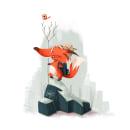 My #FoxAdventurer for @characterdesignchallenge #CDChallenge :). A Character Design, Digital illustration, and Children's Illustration project by Viv Campbell - 02.11.2021