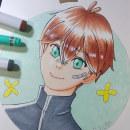 Mi Proyecto del curso: Coloreado con marcadores para dibujo manga. Un projet de Dessin , et Dessin manga de Romina Lorca Morales - 13.02.2021
