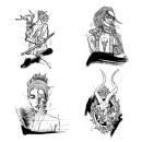 Mi Proyecto del curso: Diseño de tatuaje de autor con Procreate. Un proyecto de Dibujo, Instagram, Diseño de tatuajes, Dibujo digital y Sketchbook de Maria Esturillo - 14.02.2021