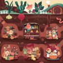 La vida de los duendes. Un proyecto de Ilustración e Ilustración infantil de Marta García Pérez - 16.02.2021