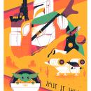 Este es el camino. A Illustration, Vector Illustration, and Digital Drawing project by Salmorejo Studio - 02.18.2021