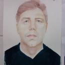Imagem de meu amigo. A Portrait illustration project by Mariângela Portela da Silva - 02.18.2021