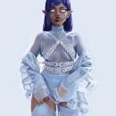 """""""Vanity"""" Illustration. Um projeto de Ilustração, Pintura, Ilustração digital, Desenho digital e Pintura digital de Ksenia - 21.02.2021"""