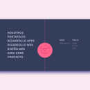 Sysmian menu interaction. A UI / UX, Web Design, Web Development, 2D Animation, CSS, HTML, and Javascript project by Juan Pineda Terrer - 02.21.2021