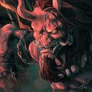 """""""The Conquest of the Devil"""". Um projeto de Ilustração, Desenho, Concept Art e Pintura digital de Gabriel Valdez - 21.02.2021"""