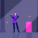 Mi Proyecto del curso: Animación vectorial estilo cuadro a cuadro con After Effects. Un proyecto de Ilustración, Animación y Diseño de personajes de Juan Pablo Juárez - 23.02.2021