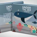 """LIBRO INFANTIL """"UNDER THE SEA"""" by lafifi. Un proyecto de Diseño gráfico de lafifi _ design - 24.02.2021"""