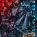 The Terminator . A Poster Design, Digital illustration, and Portrait illustration project by Oscar Martinez - 02.24.2021