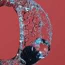 BUBBLE FLOW: Lettering 3D animado con X-Particles. Um projeto de 3D, Animação, Direção de arte, Lettering, Animação 3D, Modelagem 3D, Concept Art, 3D Design, Lettering digital e Lettering 3D de Erich Gordon - 02.01.2021