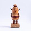 Popoke Monstro Dentinho, 2020. Um projeto de Design, Artes plásticas, Escultura e Marcenaria de Popoke Brasil - 25.02.2021