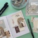 Art journal, una forma de avivar tu creatividad cada día. Um projeto de Papercraft de Little Hannah - 26.02.2021