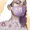 8M 2021. Um projeto de Ilustração, Ilustração digital e Ilustração de retrato de Amalia Torres - 28.02.2021