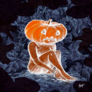 Halloween 2020. Um projeto de Esboçado, Criatividade, Ilustração digital e Sketchbook de Ligia Gomadri - 25.10.2020