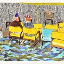 Habitaciones II. Um projeto de Ilustração e Desenho de Fortuna Studio - 01.03.2021