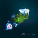IOT Digital Ray-Path® 2. Un proyecto de Ilustración de Paco Martos - 01.03.2021