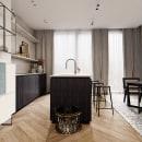 calmly kitchen. Um projeto de 3D Design de BENJAMÍN ARNELA TOLEDANO - 10.11.2020