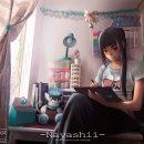 Ilustracion Ludzely room. Un proyecto de Ilustración, Concept Art y Dibujo digital de Ludzely nee - 12.11.2020