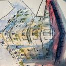My project in Architectural Sketching with Watercolor and Ink course. Un proyecto de Dibujo y Bocetado de Miled Lopez - 02.03.2021