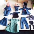 Mi Proyecto del curso: Confección de ropa miniatura. Un proyecto de Diseño de moda de Ana Meza - 03.03.2021