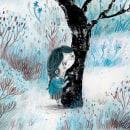 La montaña. Un proyecto de Ilustración, Diseño de personajes, Pintura a la acuarela e Ilustración infantil de Julián David Jiménez Ariza - 03.03.2021