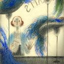Mi Proyecto del curso: Ilustración expresiva trazo a trazo. Um projeto de Ilustração, Desenho a lápis, Desenho e Ilustração infantil de Daniel Torrent Riba - 05.03.2021