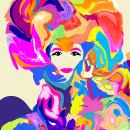 Scoppio pop. Un proyecto de Diseño gráfico, Collage e Ilustración digital de Houda Bakkali - 06.03.2021