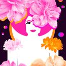 ART REVEAL MAGAZINE | COVER. Un proyecto de Ilustración, Motion Graphics, Collage y Diseño digital de Houda Bakkali - 16.02.2021