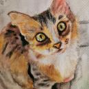 """""""EYE CAT"""". Un proyecto de Dibujo de Paulina Zamora - 08.03.2021"""