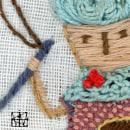 Mi Proyecto del curso: Introducción al bordado en relieve. Un proyecto de Bordado e Ilustración textil de Leicia Gotlibowski - 10.03.2021