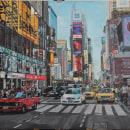 New York. Um projeto de Artes plásticas, Pintura e Pintura Acrílica de Ingrid Romero Parreño - 12.03.2021