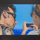 Retratos. Um projeto de Pintura, Pintura Acrílica e Pintura guache de Ingrid Romero Parreño - 12.03.2021