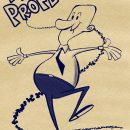 """Mi Proyecto del curso: Diseño de personajes estilo cartoon con Procreate - """"El Profe"""". Un proyecto de Ilustración, Diseño de personajes, Cómic, Bocetado, Creatividad, Dibujo a lápiz, Dibujo y Dibujo digital de JORGE GONZÁLEZ GARAZATÚA - 14.03.2021"""