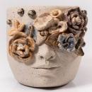 Vasos Flora. Um projeto de Design, Design de produtos e Cerâmica de Kiara Hayashida - 15.03.2021