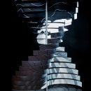 Escultura cinética para evento Acciona. Un proyecto de Dirección de arte, Consultoría creativa, Diseño gráfico, Diseño industrial, Arquitectura interior, Diseño de iluminación, Escultura, Escenografía, Animación 3D y Diseño 3D de Manuel Lozano - 15.03.2021