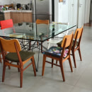 Mesa de Jantar em Aço e Vidro. A Furniture Design project by Fernando Carvalho de Paula Cortes - 03.16.2021
