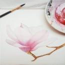 Sueño floral. Un proyecto de Ilustración e Ilustración botánica de Katherin Valencia Rosero - 17.03.2021