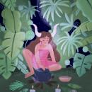 Witch Ritual. Um projeto de Ilustração infantil e Ilustração digital de Juanita Londoño Gaviria - 20.09.2020