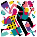 SALIMOS JUNTAS. Un proyecto de Ilustración y Diseño de carteles de Daniel Montero Galán - 17.03.2021