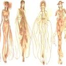 Mi Proyecto del curso: Introducción al diseño de moda: Destello de luz. Um projeto de Design de moda de Paulina Guadalupe Carmona Moreno - 17.03.2021