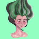 Ilustración Personaje. Um projeto de Desenho digital e Ilustração de Daniela Martínez - 16.03.2021