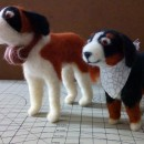 Bernard and Bernese: Needle Felting Animal Creation course. A Character Design, Crafts, To, Design, Character animation, Art To, and s project by Edson Mito - 03.20.2021