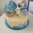 Torta de Frozen 2. Um projeto de Culinária de Olga Isabel Gomez Arango - 24.03.2021