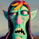 TROLL. A 3D, Character animation, and Design 3D project by Adrián Andújar - 03.24.2021