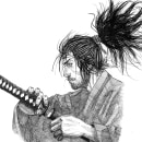MMiyamoto Musashi. Un projet de Illustration d'encre de Sebastián Millar Vargas - 25.03.2021
